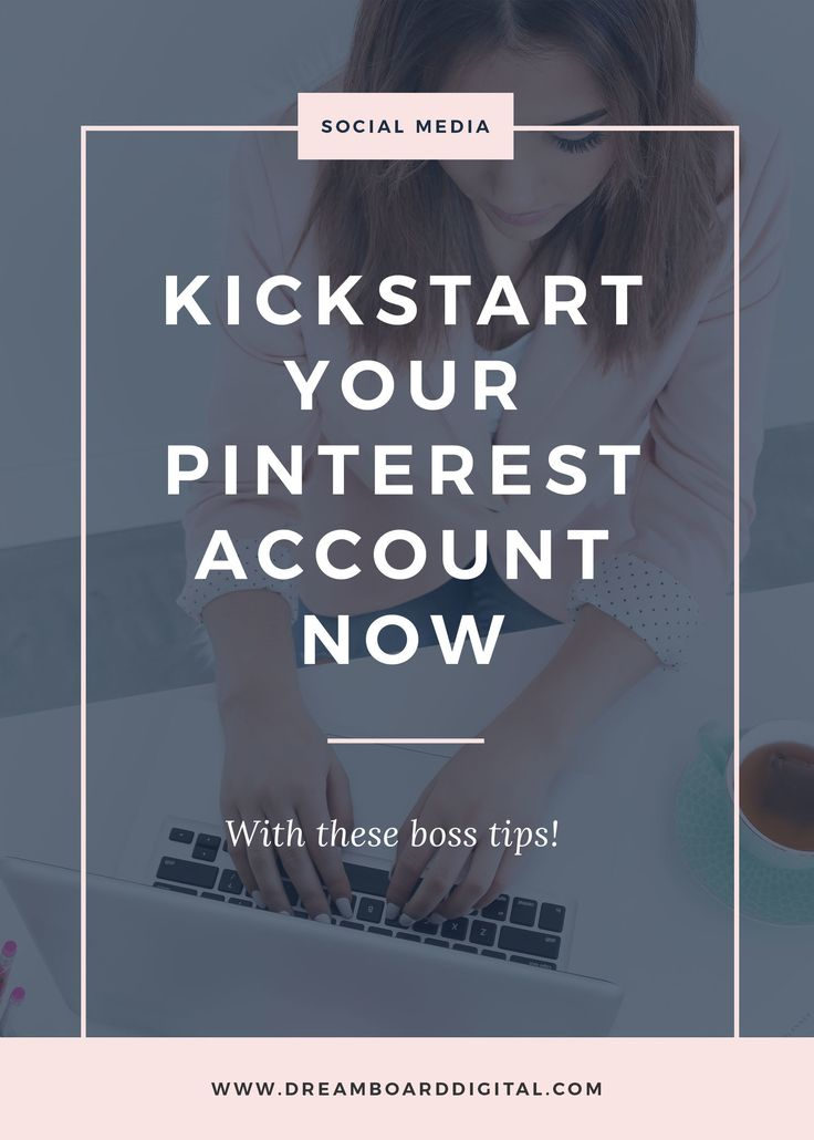 Kickstart Your Pinterest Account Now With These Boss Tips. Do you keep hearing about the benefits of Pinterest and what it can do for your biz? Grow your traffic, expand your email list,and even make pigs fly. Maybe you're skeptical or maybe you're unsure about how to actually implement Pinterest in your biz. Click here to read how you can setup your account the right way and start reaping the benefits for your biz!