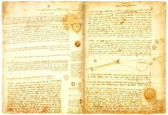 Codex Leicester (Book) ~ Bought by Bill Gates in 1994 in an auction for a record price of $30.8 million, this book is by far the most expensive book ever sold.Itis one of the most celebrated works of Leonardo da Vinci. The book is a documentation of various scientific findings and writings that he did over the course of his lifetime. b  #thatseasier #luxury #rich