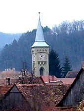 Nemşa, Evangelical fortified church, Photo: Tudor Seulean