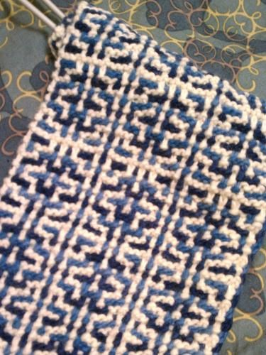 Free Mosaic Knitting Patterns : 77 best images about Knitting: Mosaic and Slipped Stitches on Pinterest Kni...
