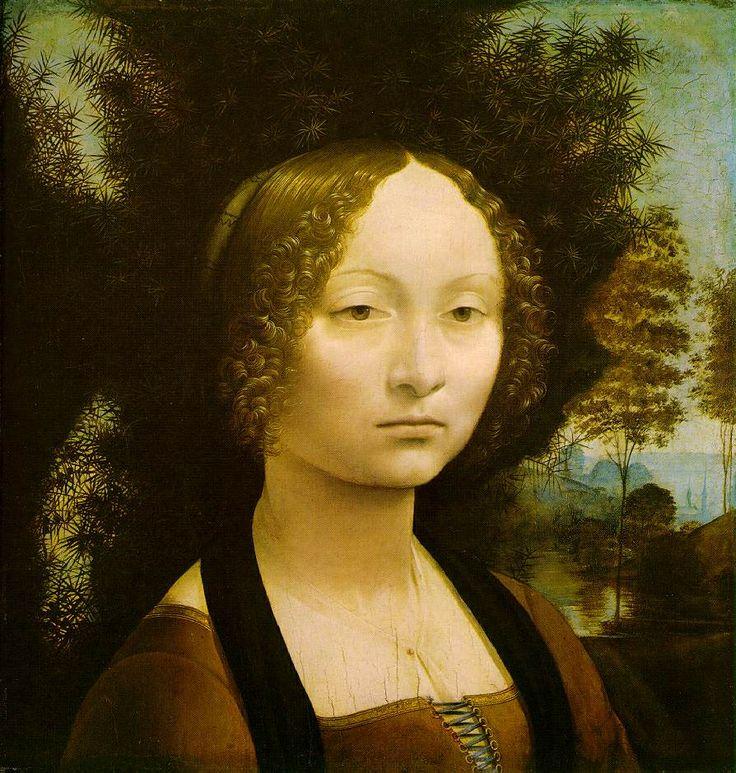 Ritratto di Ginevra de Benci. Leonardo