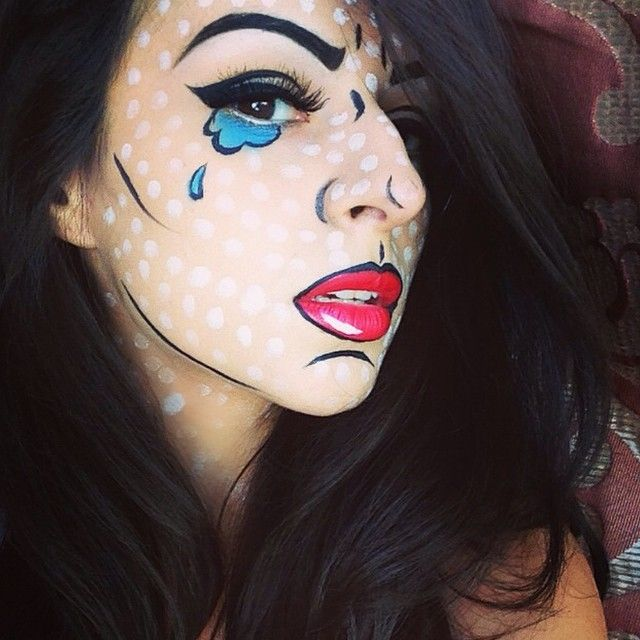 20 Seriously Cool (and Easy) Halloween Makeup Ideas Pop - Cute And Easy Halloween Makeup