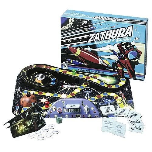 Relevância 3 - Linguagem e tabuleiro 4D  Zathura Board Game