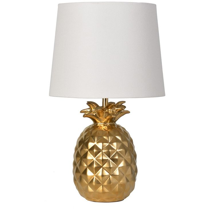 Target - Pillowfort - gold pineapple lamp --- yes please!