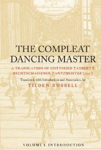 If you a historian dancer, you must to have these book. WOrk of G. Taubert, dancing master worked in Danzig (now Gdansk) in early 18th century. Including pictures with Feuillet notation, courante, menuet and bouree.