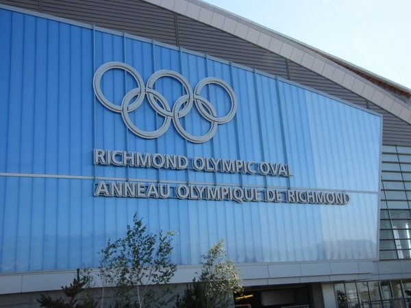 The Olympic Oval.  Make time to visit the Oval when you're in Richmond, the less known but with plenty to offer neighbor to Vancouver!