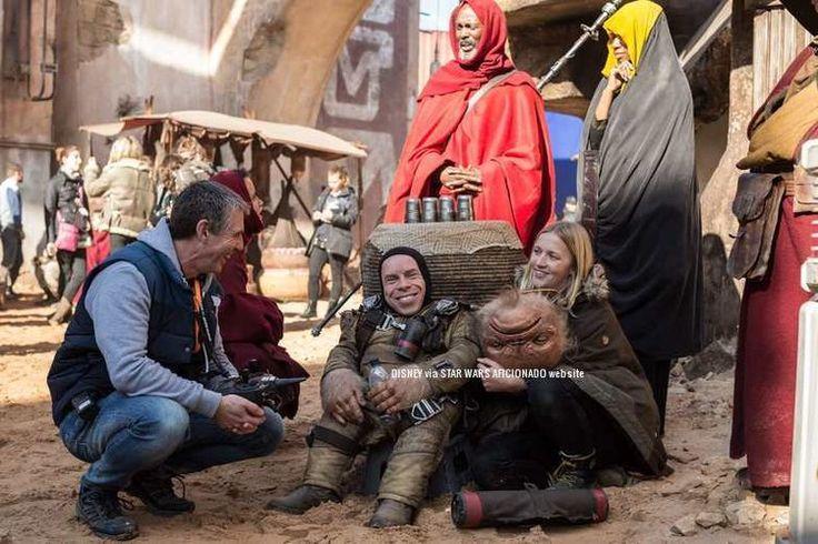 Rogue One behind the scenes Warwick Davis