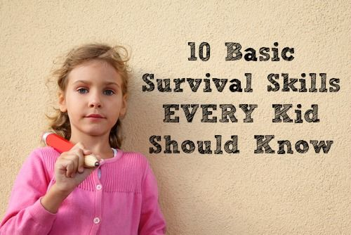 10 Basic Survival Skills Every Kid Should Know