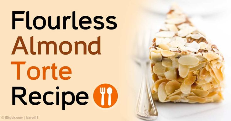 Enjoy the superior nutrition of almonds in this delicious and easy-to-make flourless almond torte recipe.