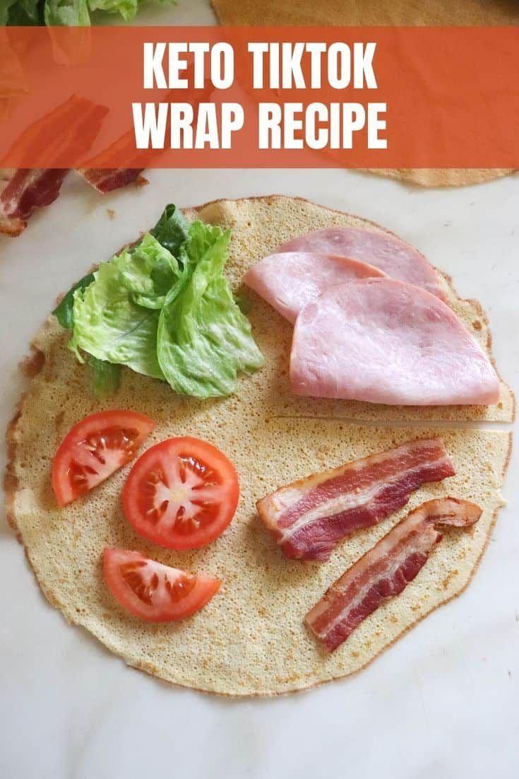 Keto Tiktok Tortilla Wrap Recipe Recipe In 2021 Wrap Recipes Recipes Tortilla Wraps