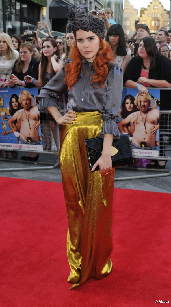 I am not a Paloma Faith fan but I love this 'Middle aged art teacher on a night out' look. GOLD! GOLD!