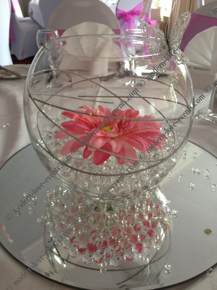 Best ideas about fish bowl centerpieces on pinterest