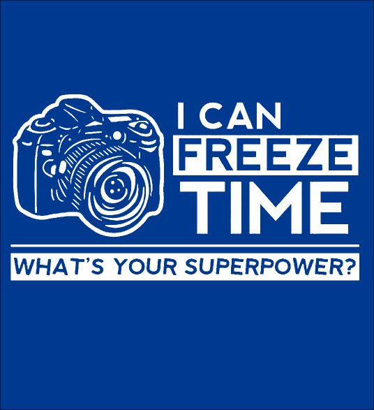 I CAN FREEZE TIME - LIMITED EDITION - Fabrily