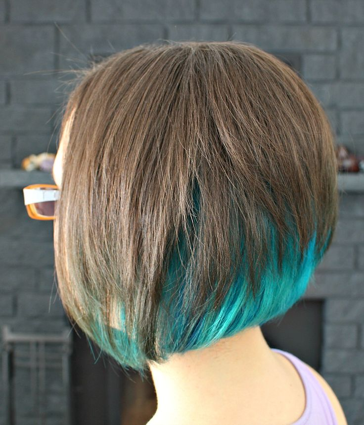 Two Years of Turquoise Dip Dyed Hair, Rainbow Hair FAQ, Plus My ...