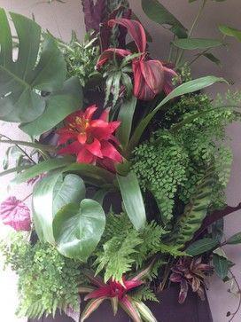 Vertical Garden - Front Entry Rosalie