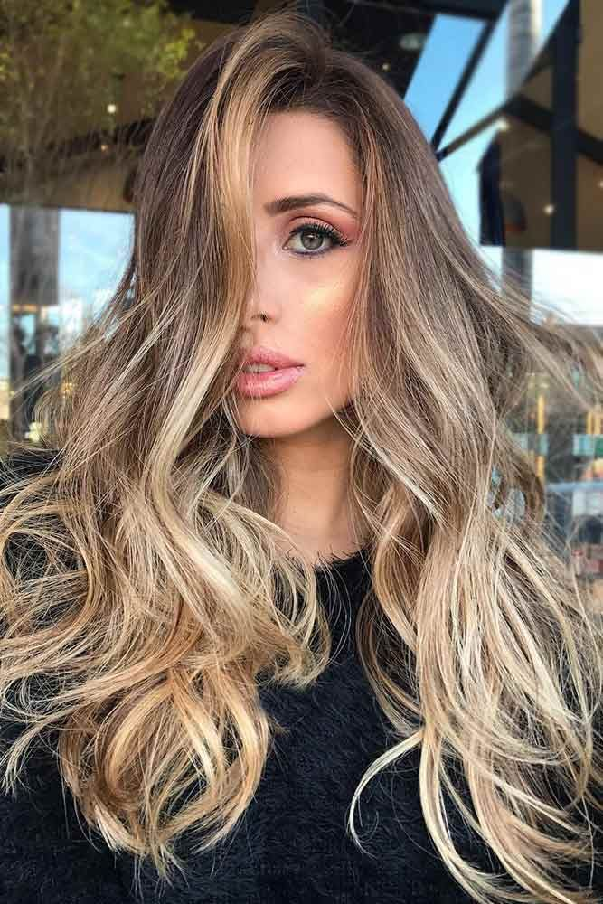 Here we have collected 35 of our favorite balayage hair styles. Choose the one that works best for your skin tone, style and personality! #haircolor #brownbalayage