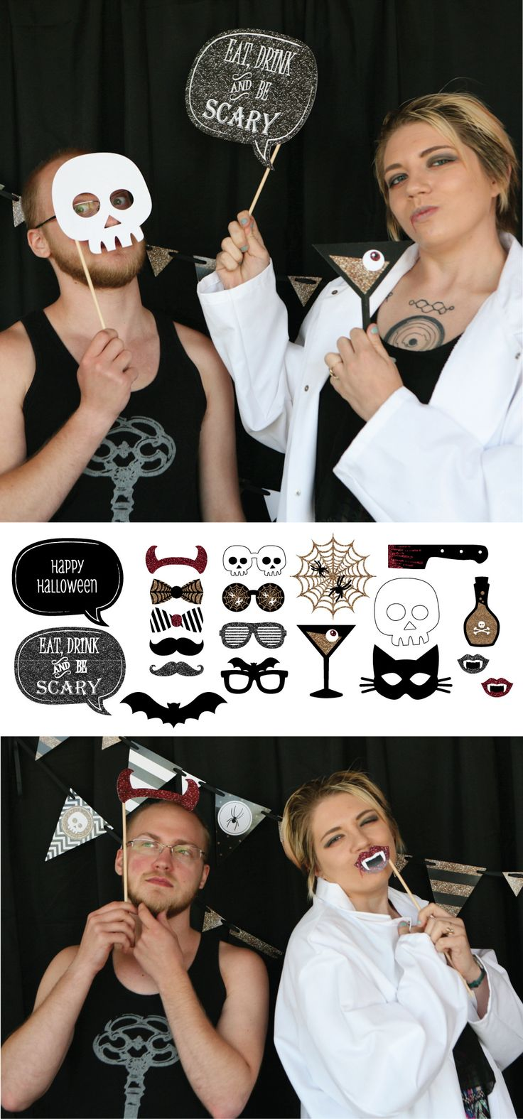 20 best Halloween party Selfie Station images on Pinterest