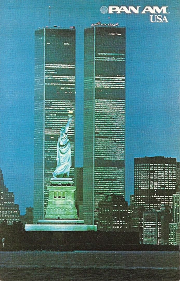 New York City | Pan Am Travel Poster. #worldtradecenter