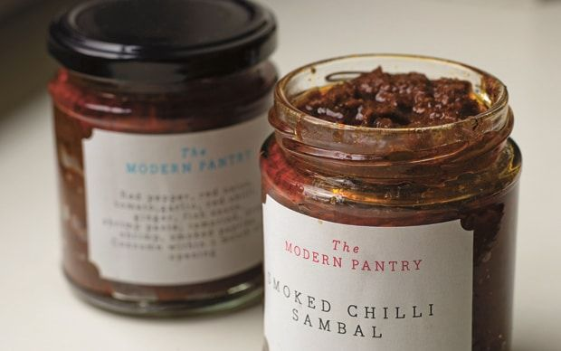 Smoked chilli sambal can be stored in the fridge for several months after you   make it, says Anna Hansen