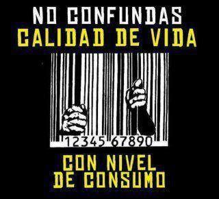 """""""El #consumismo te consume"""" #ParaPensar #FrasesQueImportan #decrecimiento"""