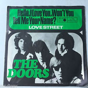 The Doors Hello, I Love You / Love Street - German release Metronome 1968 #thedoors #single