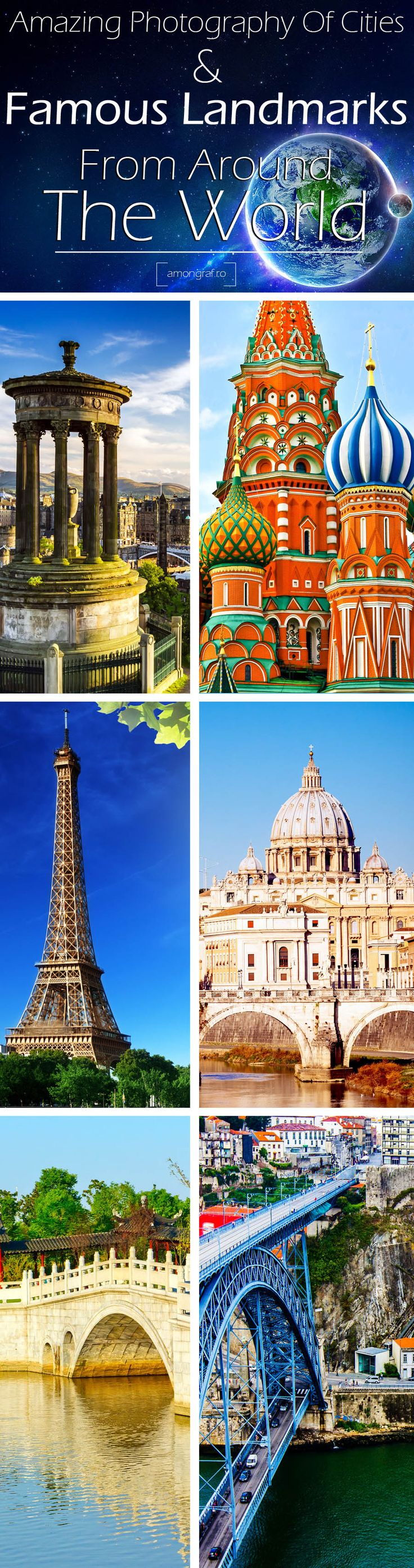 Amazing Photography Of Cities and Famous Landmarks From Around The World #travel #destinations #landmarks