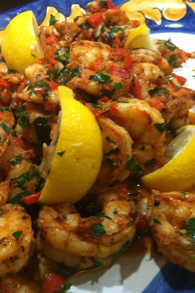 Creole Shrimp..Tested this recipe from Pinterest for Mardi Gras this evening...delish...fast, healthy and full of flavor!  Recipe is under my board, Pinterest Foodie Ideas! I really do test what I pin there!  This is a keeper!