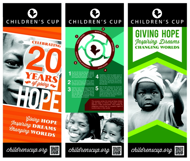 Thedesignpackcompany.com Banner Design CHILDRENSCUP.ORG