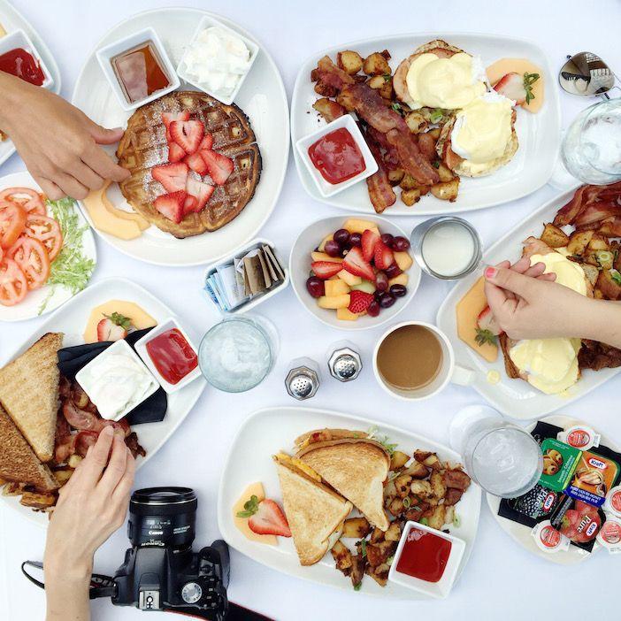 Breakfast at Talon's Restaurant   Jillian Harris