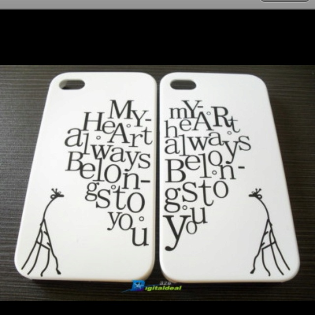 Super cute couples iPhone cases.: Iphone Cases, Iphone And, Couples ...