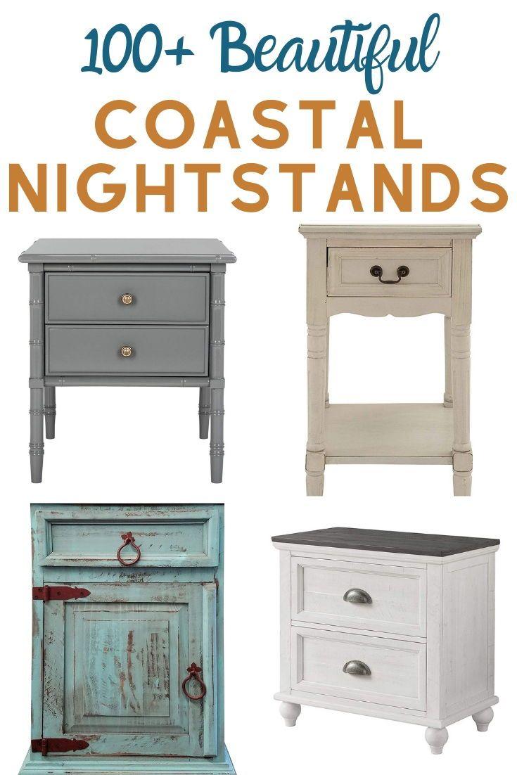 Coastal Nightstands Beach Nightstands In 2020 Coastal Bedroom Furniture Coastal Bedroom Shabby Chic Nightstand