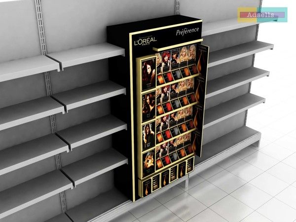 Loreal Shelf in Shelf by Ayaz Ali, via Behance