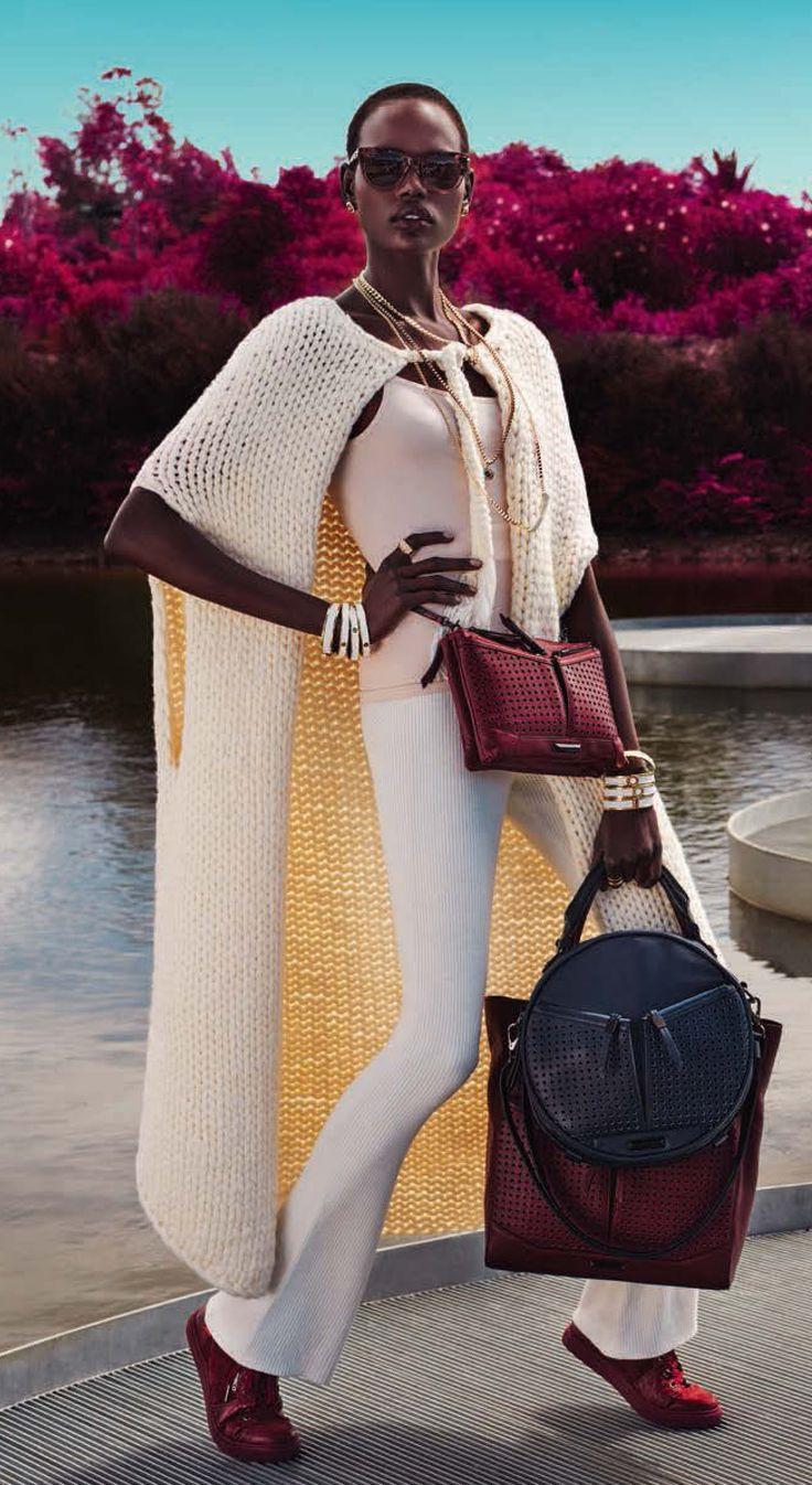 long knit vest Mimco