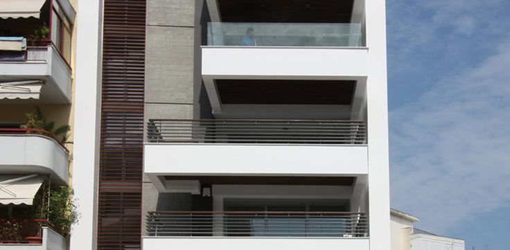 Six Storey Apartment Building   in Toumpa, Thessaloniki