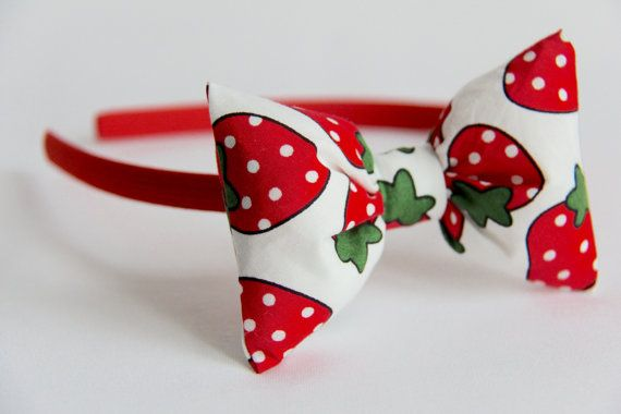 Strawberry Alice Band, £6