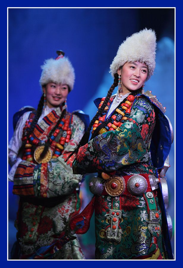 """""""Jiuzhaigou Tibetan Cultural Show"""" by K S Ng,"""
