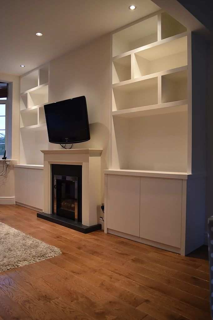 #Shelving #cabinets SS Carpentry is a well-known and reputed company that can provide you the best quality Alcove Units Kingston. They are expert in carpentry services