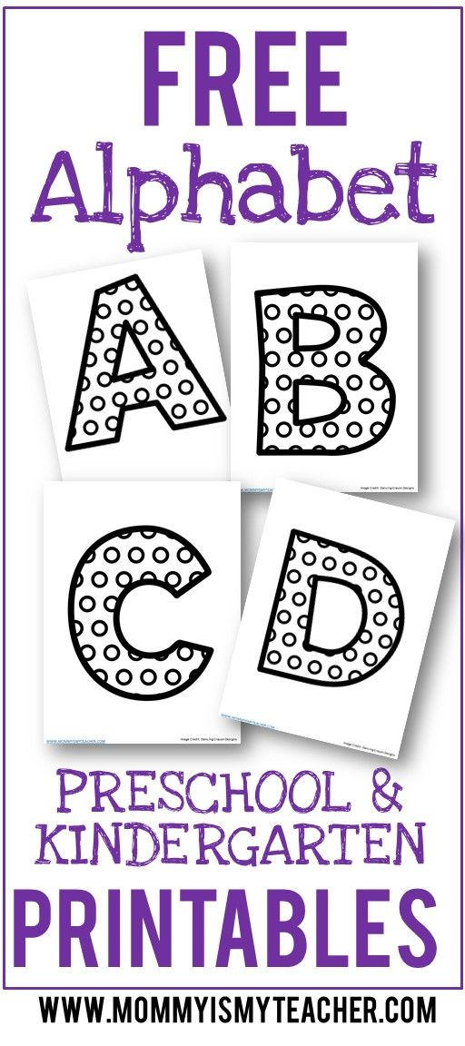 I just printed free alphabet printables for my preschool homeschool curriculum! Love these preschool activities at home.