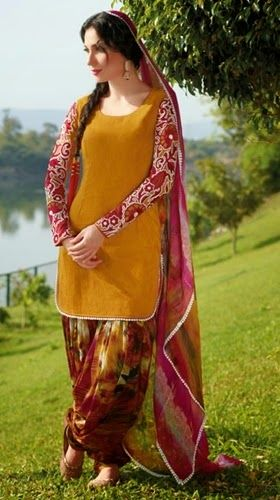 Punjabi Suits Collection 2014 2015 Designer Cultural