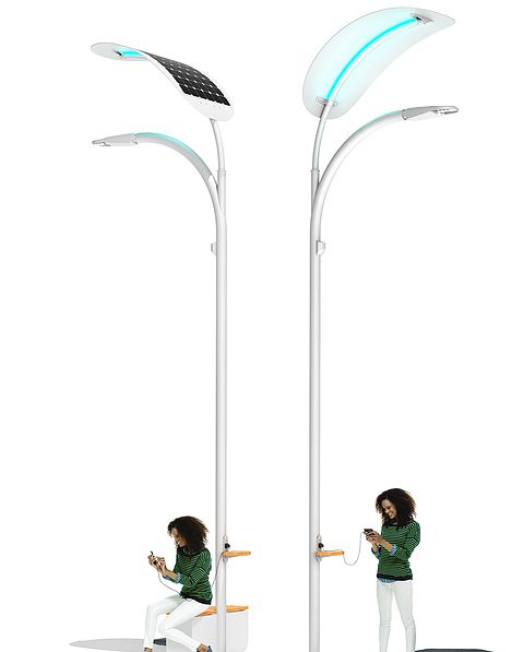 EnGoPLANET Solar Street Light is innovative, modern and high quality off-the-grid street lighting powered by solar and kinetic energy.