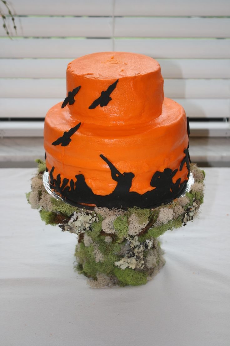 J's Duck Dynasty Party Cake
