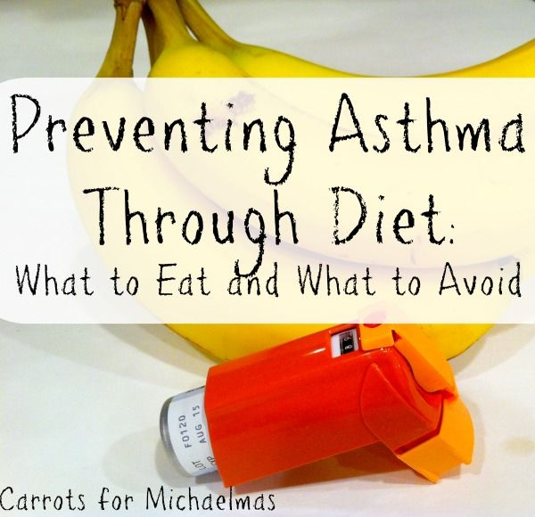 Preventing Asthma Through Diet: What to Eat and What to Avoid (Guest Post by Kathy Dix Biallas)