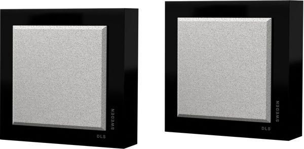 Flatbox Slim Mini - Black On wall speaker box