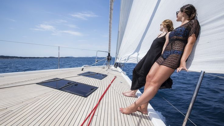 Get in a row! #DelfinoBlu #YachtCruise Photo on @argentousyacht