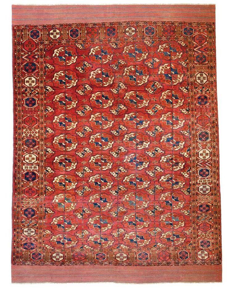 Tekke Main Carpet 9ft 6in X 7ft 1in 289 215