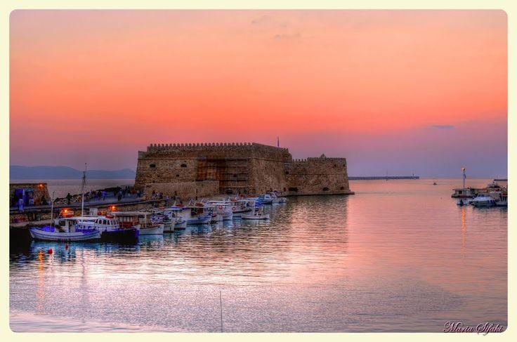Old Venetian Port - Heraklion, Crete