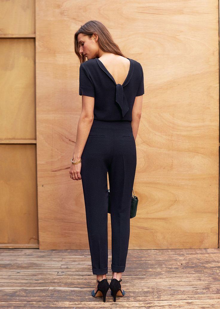 1000 id es propos de accessoires robe bleu marine sur pinterest tenues de travail. Black Bedroom Furniture Sets. Home Design Ideas