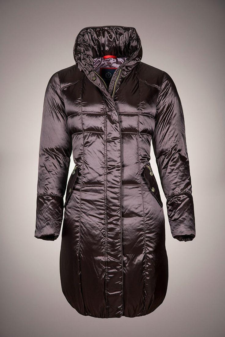 MILANO NS-480 #casual #down #coats #brown #women #plumiferos #parka #plumas #abrigos #mujer #inspiracion
