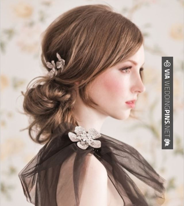Sweet! - Style | CHECK OUT MORE GREAT WEDDING HAIRSTYLES AND WEDDING HAIRSTYLE INSPIRATIONS AT WEDDINGPINS.NET | #weddings #hair #weddinghair #weddinghairstyles #hairstyles #events #forweddings #iloveweddings #romance #beauty #planners #fashion #weddingphotos #weddingpictures