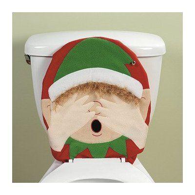 vintage funny toilet seat